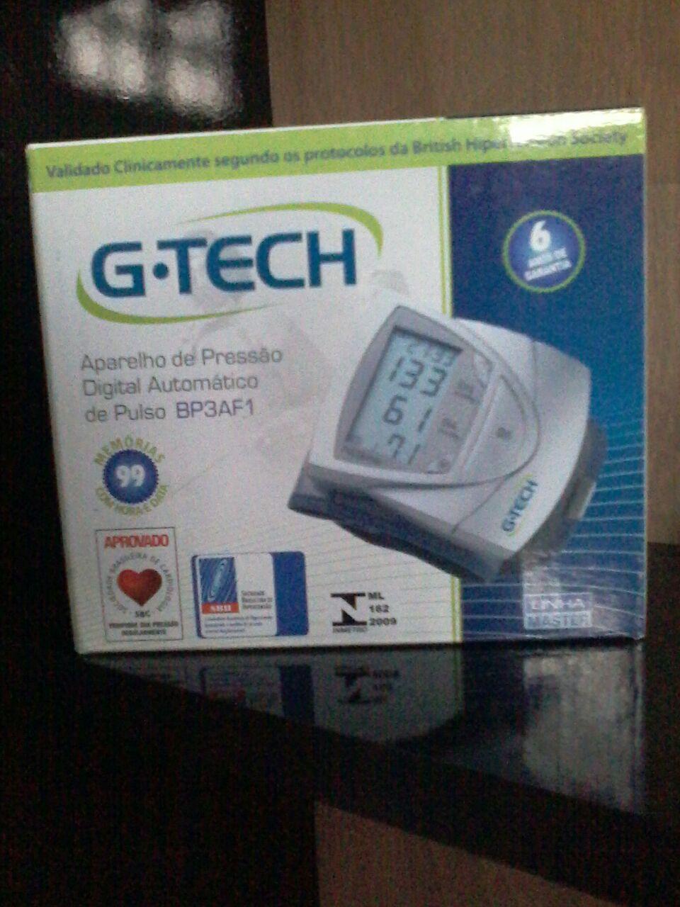0664e1225 Portal do Médico - Medidor De Pressão Arterial Digital De Pulso Bp3af1 G- tech